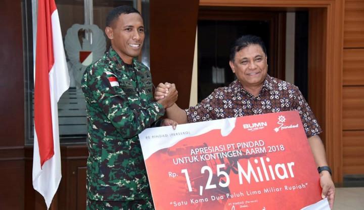 Foto Berita Cetak Rekor AARM, Pindad Guyur Tim Tembak TNI AD Rp1,25 M