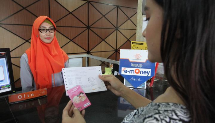 Foto Berita Top Up Mandiri e-money Kini Bisa di Kantor Pos