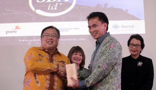 Foto PT Vale Indonesia Sabet Overall Winner SBA