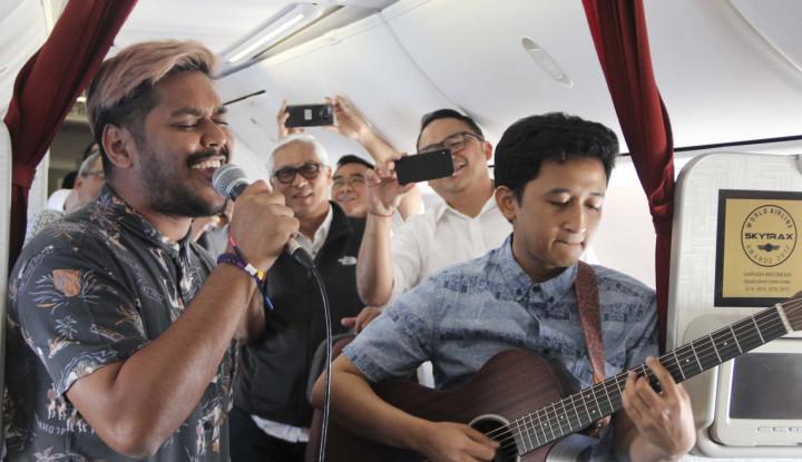Bidik Milenial, Garuda Indonesia Tampilkan Live Music dalam Penerbangan - Warta Ekonomi
