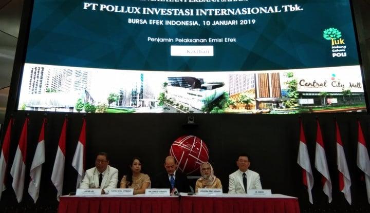 Pollux Investasi Internasional Resmi Catat Saham di BEI Hari Ini - Warta Ekonomi