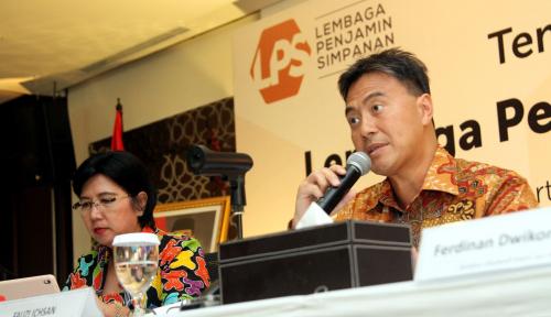 Foto Awal Bulan Jalani Fit and Proper di DPR, Destry Siap Gantikan Mirza