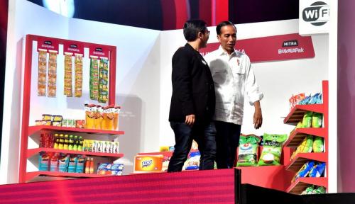 Foto Jawab Kritikan CEO Bukalapak, Jokowi: Anggaran R&D Rp26 T untuk 2019