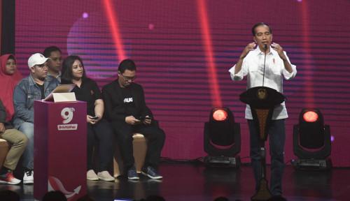 Foto Jokowi Imbau 56 Juta UKM Indonesia untuk Masuk ke Toko Online