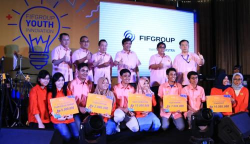 Foto Apresiasi Mahasiswa Pemenang Ide Bisnis, FIFGroup Beri Dana Bantuan Pendidikan