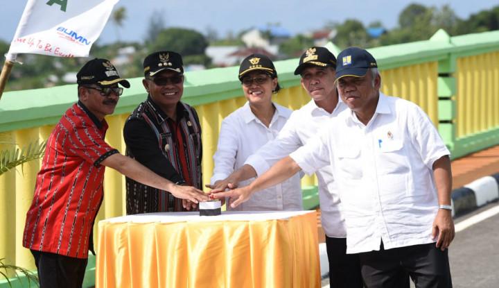 Foto Berita Menkeu Kembali Resmikan Proyek di Maluku dari Dana Sukuk