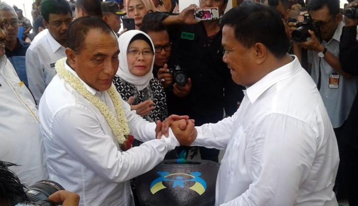 Foto Berita Gubernur Sumut Serahkan Molin,Bantu Tindak Kekerasan Perempuan dan Anak