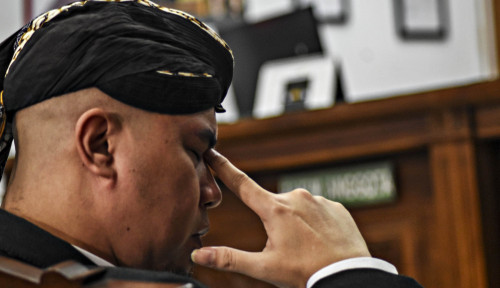 Foto Parah! Ahmad Dhani 'Tuduh' Polisi dan Jaksa Politisasi Kasusnya