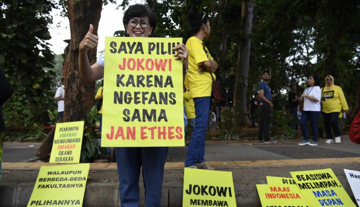 Foto Berita Tak Semua Alumni UI Dukung Jokowi, Buktinya Ini...