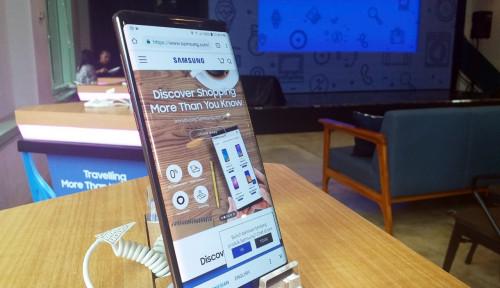 Foto 2019, Samsung Tumben Tiru Vivo