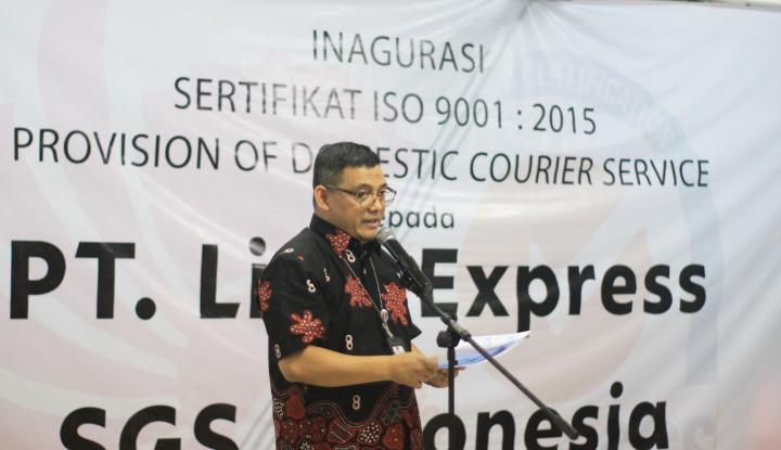 Lion Parcel Raih Sertifikasi Audit ISO 90001:2015 - Warta Ekonomi