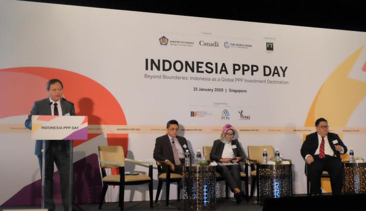 Foto Berita Jaring Investor, Kemenkeu Gelar Indonesia PPP Day