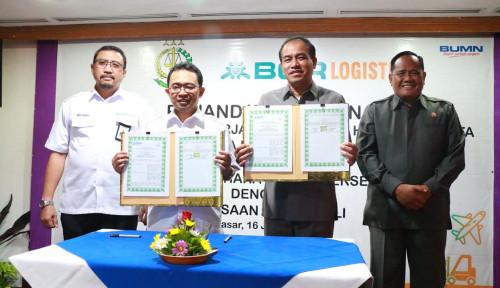 Foto BGR Logistics dan Kejati Bali Teken MoU Bantuan Hukum