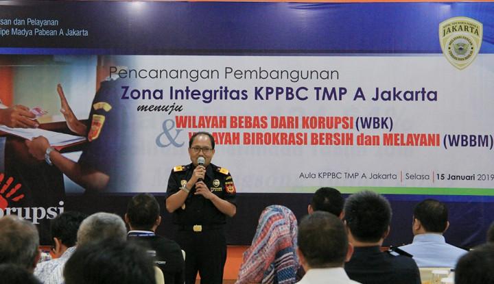 Foto Berita Menuju Predikat Wilayah Bebas Korupsi, Bea Cukai Jakarta Gelar Acara Zona Integritas