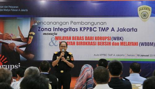 Foto Menuju Predikat Wilayah Bebas Korupsi, Bea Cukai Jakarta Gelar Acara Zona Integritas