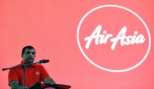 Foto Hampir Tersungkur, Tony Fernandes Ceritakan Lika-Likunya Kepakkan Sayap Air Asia