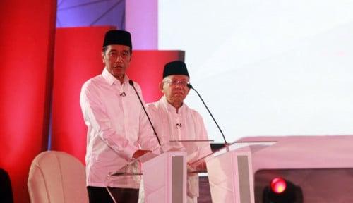 Foto Kyai Ma'ruf Mulai Menyerang: yang Tak Akui Kinerja Jokowi,