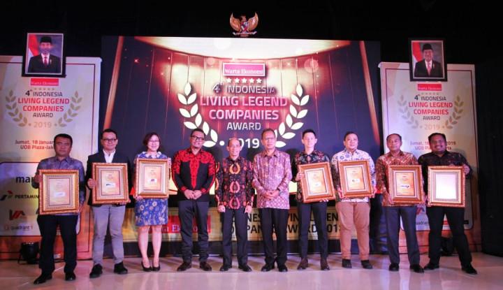 Foto Inilah Para Peraih Indonesia Living Legend Companies Award 2019