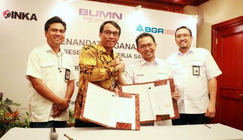 Foto BGR dan Inka Sepakati Kerja Sama Pemanfaatan Layanan Logistik