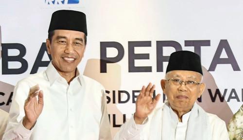 Foto Maruf Amin dan Jokowi Wajib Menang Pilpres, Alasannya Unik