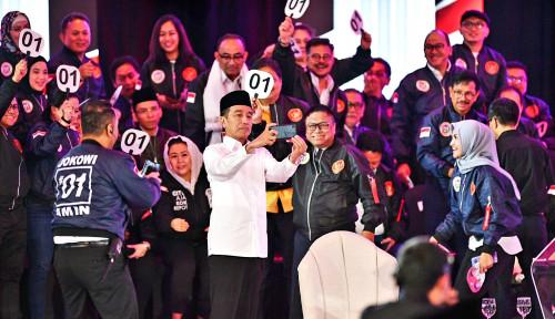 Foto Prabowo Serang Isu Menteri dari Parpol, Jokowi Tepis: Jangan Dibeda-bedakan