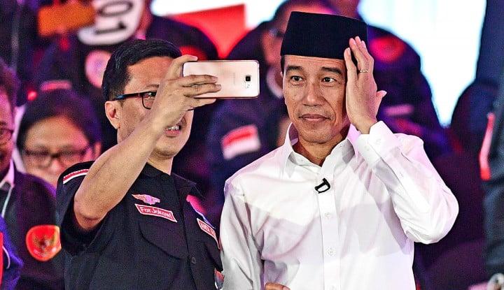 Foto Berita Hoax, Orang yang Bilang Jokowi Anti-Ulama itu Hoaxer