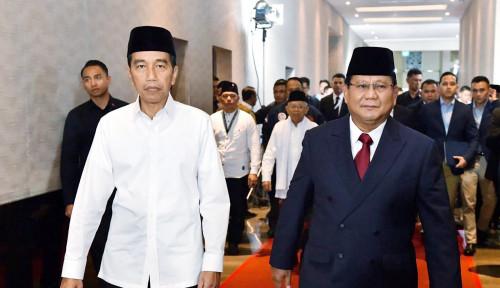 Foto Belum Terkalahkan, Jokowi Tetap Unggul, Prabowo?