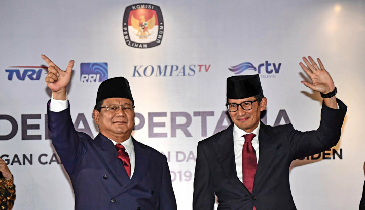 Via MK, Prabowo-Sandi Minta Jokowi-Ma'ruf Didiskualifikasi - Warta Ekonomi