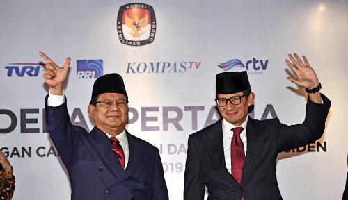 Foto Meski Kalah Survei, Kubu Prabowo Tetap 'PeDe'