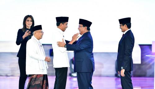 Foto Moderator Debat Pilpres Sesi Kedua Ingin Jokowi dan Prabowo....