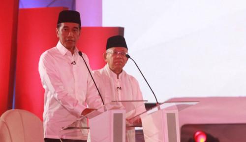 Foto Debat Capres Kedua, Jokowi Jadikan Capaian Infrastruktur Sebagai Senjata?