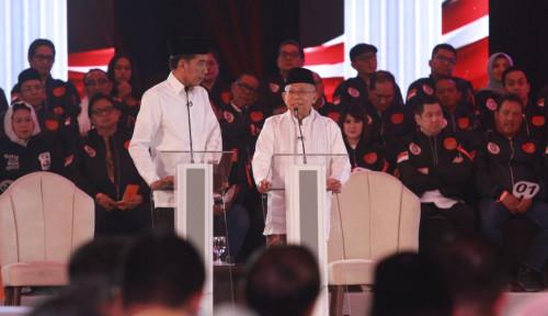 Foto Debat Pamungkas Bakal Untungkan Jokowi-Ma'ruf? TKN Jawab...