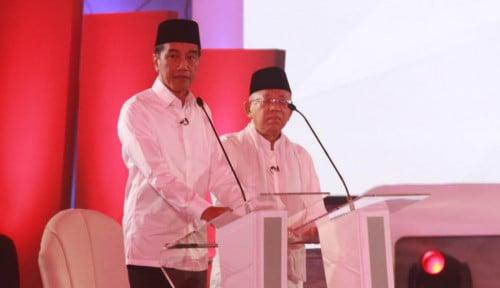 Foto PoliticaWave : Jokowi Kuasai Medsos Pada Debat Pertama