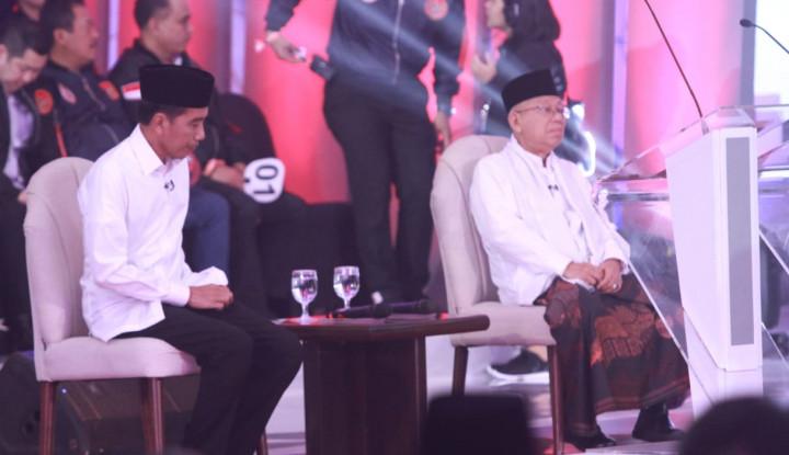 Jokowi Belum Pasti Temani Ma'ruf di Debat Cawapres - Warta Ekonomi