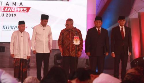 Foto Debat Pilpres Semalam Biasa Saja?