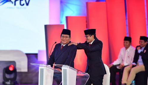 Foto Sandi Juga Akui Kok Debat Kemarin Kurang Gereget, Tapi Gimana...