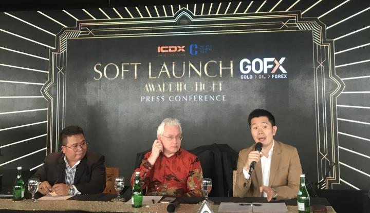 GOFX Milik ICDX Jadi Kontrak Spot Forex Pertama di Asean - Warta Ekonomi