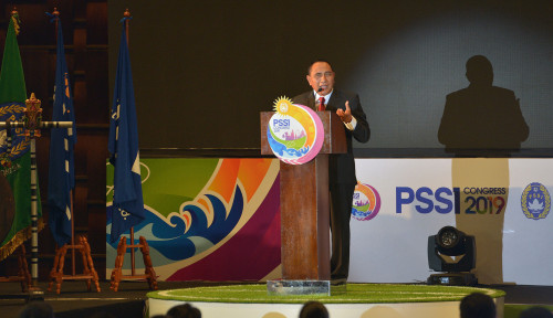 Foto Edy Rahmady Mundur dari Jabatan Ketua PSSI