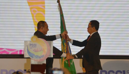 Foto Voters Teken PSSI Gelar Kongres Luar Biasa