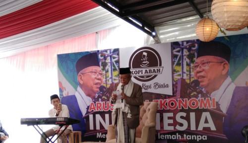 Foto Ma'ruf Amin: Indonesia Alami Tsunami Teknologi