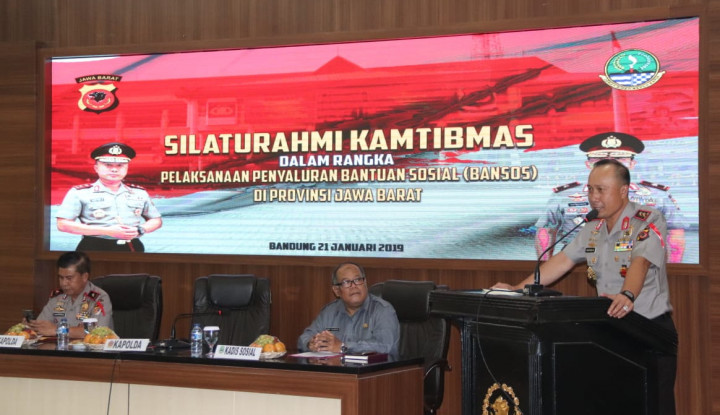 Kapolda: Awasi Penyaluran Bansos PKH Jabar! - Warta Ekonomi