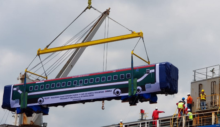 LPEI Dukung Pembiayaan Ekspor Kereta Rp775,6 Miliar ke Inka - Warta Ekonomi