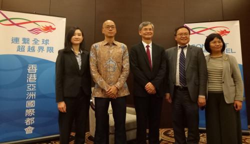 Foto Kunjungi Indonesia, Pemerintah Hong Kong Butuhkan TKI dan Berikan Jaminan Kesejahteraan