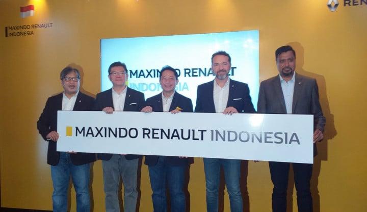 Foto Berita Maxindo Siap Pasarkan Produk Renault di Indonesia