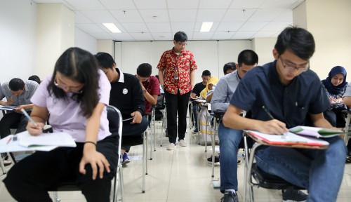 Foto Sebanyak 1.253 Pendaftar Ikuti Ujian Masuk Universitas Pertamina