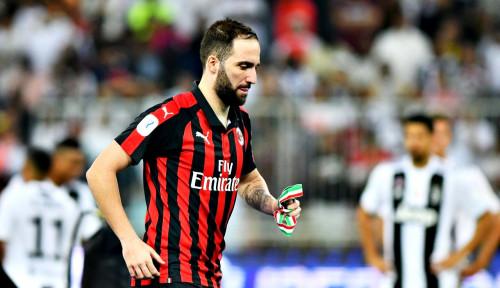 Foto Higuain Dikabarkan Siap Tinggalkan AC Milan