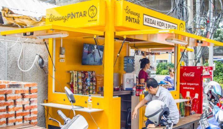 Digitalkan PKL di Indonesia, Warung Pintar Raih Pendanaan Baru Rp390 Miliar - Warta Ekonomi