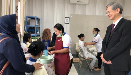 Foto Pemerintah Hong Kong Kunjungi Pelatihan Pekerja Rumah Tangga dan Temui Pengusaha
