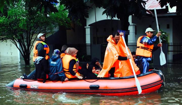 Foto Berita BNPB : Banjir di Sulawesi Mulai Surut
