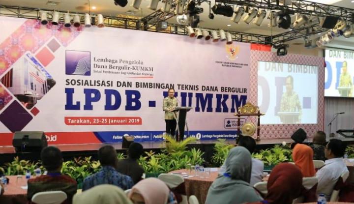LPDB Targetkan Penyaluran Dana Bergulir 2019 Sebesar Rp1,5 Triliun - Warta Ekonomi